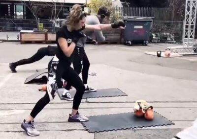 silent group fitness